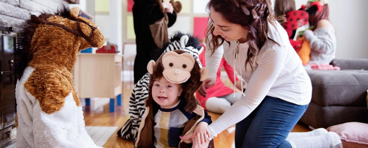 Tips for a happy halloween for a child with a disability