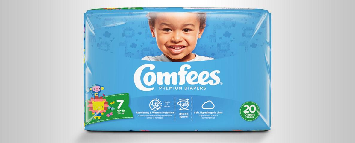 What To Do When Your Child Outgrows Size 6 Diapers: Comfees® Offers Size 7 Diapers